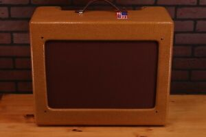 TV Front 5E3(Or Champ cutout) tweed Deluxe cabinet/Nitro Lacquer.
