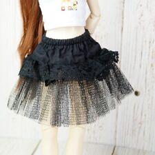 "BJD 1/3 Black Bustle Skirt Pannier For Female 1/3 24"" SD DK DZ Volks AOD Doll"