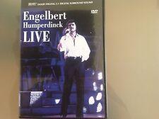 ENGELBERT HUMPERDINCK LIVE DVD - VERY GOOD CONDITION