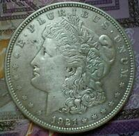 1921 US Morgan dollar annual coin,KM#110,7237