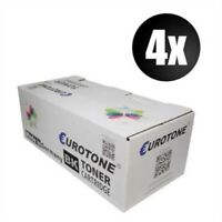 4x Eco Eurotone Toner Black For Epson M 4000 Dn Per Approx. 20.000 Pages