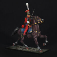 Tin soldier, Chief Officer of the Dutch Lancers, Napoleonic Wars, 54 mm