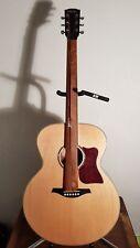 Vintage VJ100N 'Jumbo' Acoustic Guitar VJ 10 0N AT