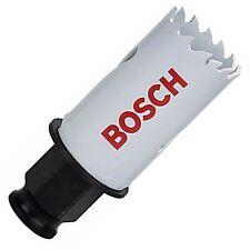 """Bosch 27 mm 1 1/16"""" cambio de alimentación de liberación rápida Holesaw Cortador del agujero Sierra Broca"""
