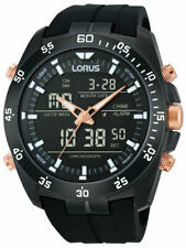 Lorus rw615ax9 Analogico-digital alarma chronograph 100m 46mm