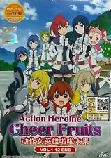 Anime Dvd Action Heroine Cheer Fruits Vol.1-12 End English Subtitle Free Ship
