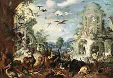 Savery Roelandt Landscapes With Wild Beasts A3 Box Canvas