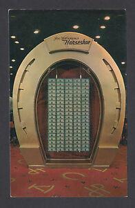 US, c.1950 Joe W. Brown's Horseshoe Club, $1,000,000 on display in Las Vegas