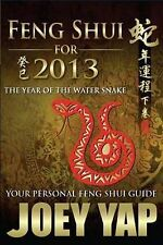 Feng Shui for 2013 by Joey Yap (Paperback, 2012)