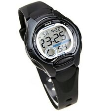 Casio Women's Black Resin Watch, Alarm, 50 Meter WR, LW200-1B