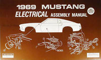 1969 69 Mustang Mach 1 Electrical Assembly Manual Ebay