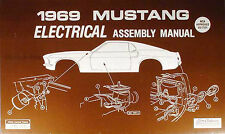 1969 Ford Mustang Electrical Assembly Manual Wiring Diagrams 69 Grande Mach I