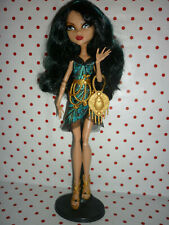 """Monster High """"Frights, Camera, Action!"""" Cleo De Nile Doll inc Accessories"""