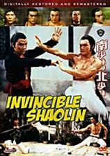 Invincible Shaolin - Hong Kong RARE Kung Fu Martial Arts Action movie - NEW