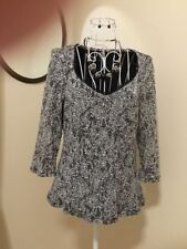 Nylon 3/4 Sleeve Hand-wash Only Floral Tops & Blouses for Women