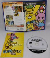 PS2 Kuri Kuri Mix Sony PlayStation 2 2001 PAL UK VGC FAST FREE POST