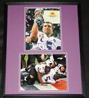 Joe Flacco Signed Framed 16x20 Photo Display JSA Ravens Super Bowl
