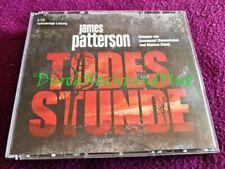 CD HÖRBUCH KRIMI THRILLER   JAMES PATTERSON   TODESSTUNDE   MICHAEL BENNETT # 4