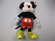 "TY Beanie Buddy Disney Sparkle Mickey Mouse 13"" Plush"