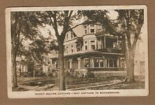 Oberlin,OH Ohio, Nancy Squire Cottage, May Cottage in background, used 1928