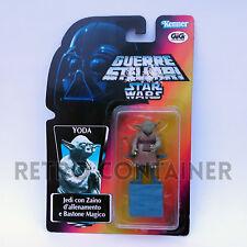 STAR WARS Kenner Hasbro Action Figure - POTF POTF2 - Yoda ITALIAN GIG SOTE