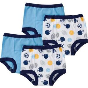 4-Pack Boys Sports Training Pant, 2 Toddler
