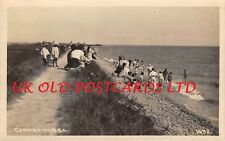 Essex - CANVEY ISLAND,  The Beach,  Real Photo, used 1920