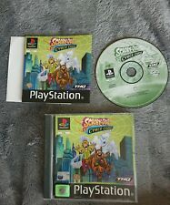 SCOOBY DOO AND THE CYBER CHASE. PS1 Game. Complete. (PlayStation One. PAL)