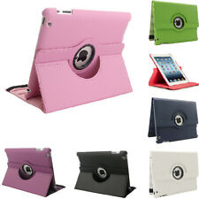 For Apple iPad 2 3 4th Generation 360 Rotating Leather Stand Case Smart Cover