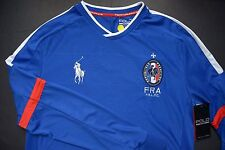 NWT Polo Ralph Lauren Men's UEFA 2016 Big Pony France Sport Jersey shirt S