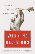 Winning Decisions: Getting It Right the First Time, J. Edward Russo, Paul J.H. S