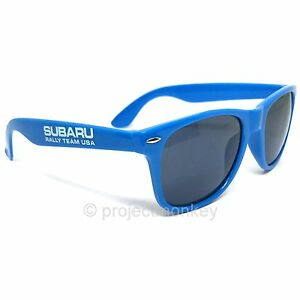Subaru Logo Sun Ray Sunglasses Blue Plastic Frame w/ UV Protection Licensed