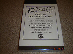 ROBIN ll DELUXE SEALED COLLECTORS SET