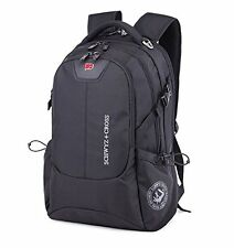 SwissGear Men's Travel Backpacks students school Bags Laptop Rucksacks Satchel