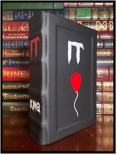 It by Stephen King New Custom Hand Leather Bound Deluxe Gift Hardcover w/ Ribbon