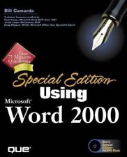 Special Edition Using: Using Microsoft Word 2000 - Free Shipping! - Only $24.99!