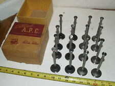 Vintage NOS 16 Intake and Exhaust Engine Valves-for Ford V8 cars-1938-1948