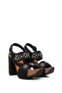 Scarpe Sandalo con Tacco Donna DESIGUAL SHOES_CARIOCA_BEADS BN Nero Mis EU 39