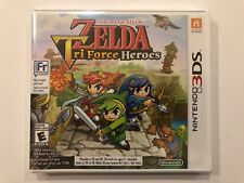 The Legend of Zelda : Tri Force Heroes [ Nintendo 3DS ] Brand New Factory Sealed