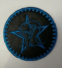 Sisters of Mercy Upcycled Leather Patch Embroidered IRON/Sew on Christian Death