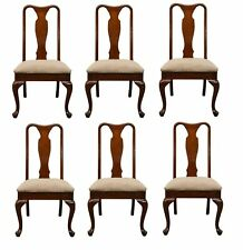 Set of 6 HENRY LINK Queen Anne Style Dining Side Chairs 120-8867 887
