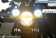 4 Pcs x 27W Car Bike Cree FOG LED BAR LIGHT SUV JEEP BULLET THAR ROYAL ENFIELD