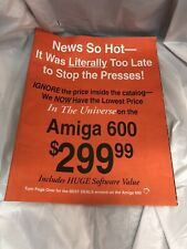 Vtg 1993 Tenex Computer Express Shopping Catalog Amiga Commodore Games 56 pages