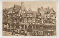 Cheshire postcard - The Cross, Chester