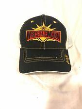 WrestleMania 35 Black WWE Mens Snapback Baseball Cap Hat- 4-7-2019