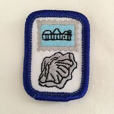 Girl Scouts Cadette Interest Project Patch Collecting Badge Shell Stamp IPP