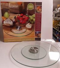 Sarah Peyton Home 1624600 Glass Lazy Susan 12""