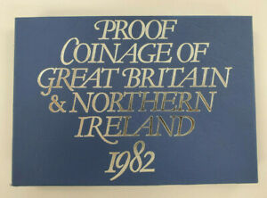 1982 Proof Coinage of Great Britain and Northern Ireland*