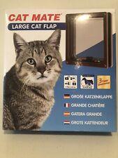 Cat Mate Inc #221 Locking Cat Door - Large brown