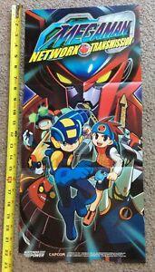 Vintage Authentic Nintendo Power Poster Mega Man Network